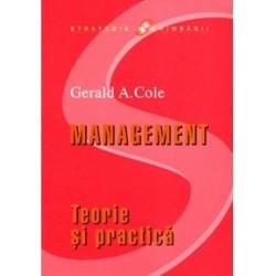 Management. Teorie si practica - Gerald A. Cole