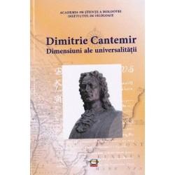 Dimitrie Cantemir. Dimensiuni ale universalitatii. Studii. Sinteze. Eseuri