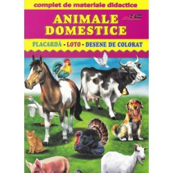 Animale domestice - Complet de materiale didactice