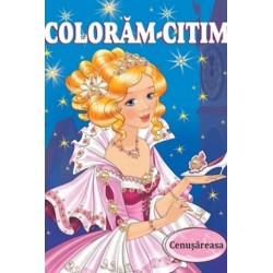 Cenusareasa - Carte de colorat