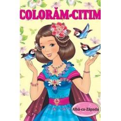 Alba-ca-Zapada – Carte de colorat