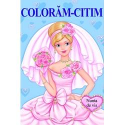 Nunta de vis – Carte de colorat