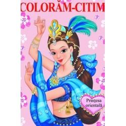 Printesa orientala – Carte de colorat