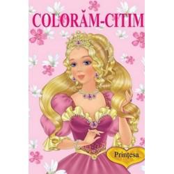 Printesa – Carte de colorat