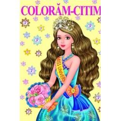 Miss Univers – Carte de colorat
