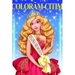 Regina frumusetii – Carte de colorat