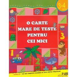 O carte mare de teste pentru cei mici 3-4 ani - Gavrina S.E.