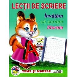 Invatam sa scriem literele - Lectii de scriere